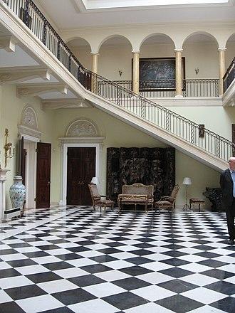 Royal Compound - Royal Palace inside and Beli dvor interior