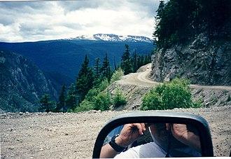 British Columbia Highway 20 - Image: Bella Coola Hill