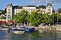 Bellevue-Limmatquai - Haus Bellevue - Quaibrücke 2011-07-31 19-38-58.JPG