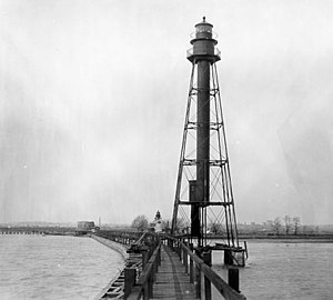 National Register of Historic Places listings in Wilmington, Delaware - Image: Bellevue Range Rear Light, Wilmington (New Castle County, Delaware)