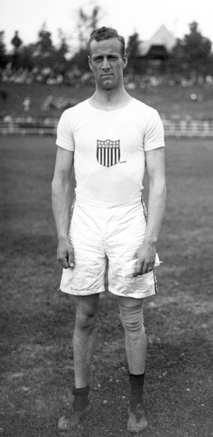 Ben Adams (track and field) - Benjamin Adams in 1912