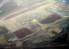 Ben Gurion International Airport aerial view.JPG