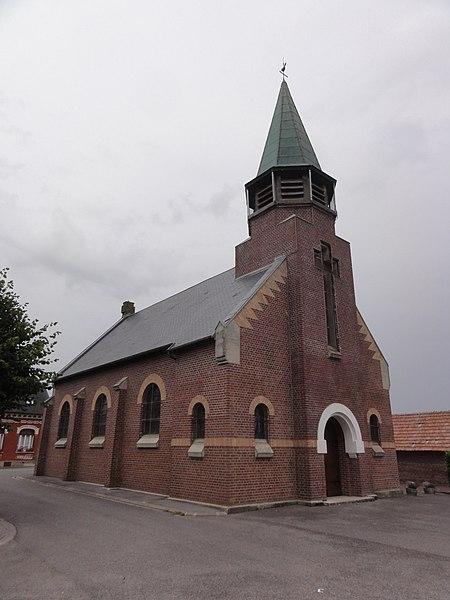 Benay (Aisne) église Saint-Martin