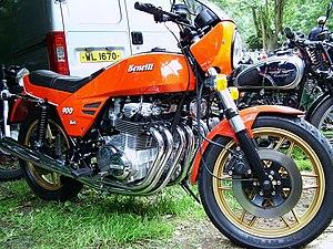 Benelli Sei - Image: Benelli 900 Sei orange