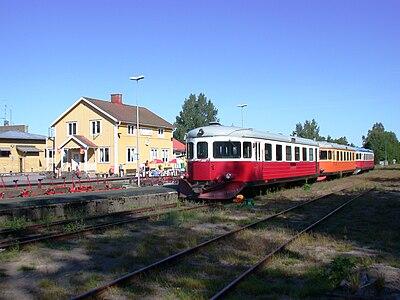 Järnvägsstationen i Bengtsfors