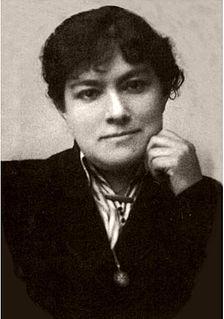 Benita Asas Manterola educator and suffragist Spanish