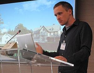 QWOP - Creator of QWOP, Bennett Foddy, in October 2009.