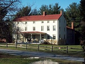 Benson–Hammond House - Benson-Hammond House, December 2009