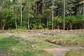 Bergen-Belsen concentration camp - foundations of disinfection building - 01.jpg