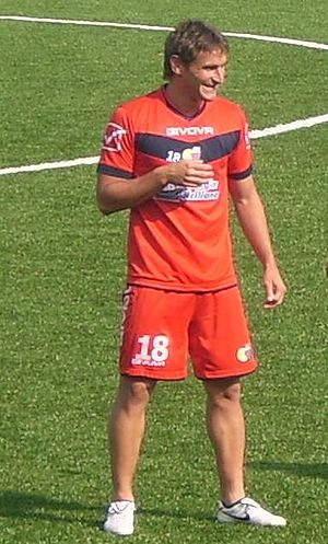 Gonzalo Bergessio - Bergessio training with Catania in 2011