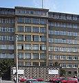 Sitz des büros des ministers im hintergrund mitarbeiterkantine und