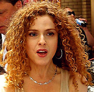 Cropped photo of Bernadette Peters