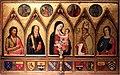 Bernardo Daddi, Madonna col Bambino tra santi, 1333, abbazia di San Gaudenzio (San Godenzo).jpg