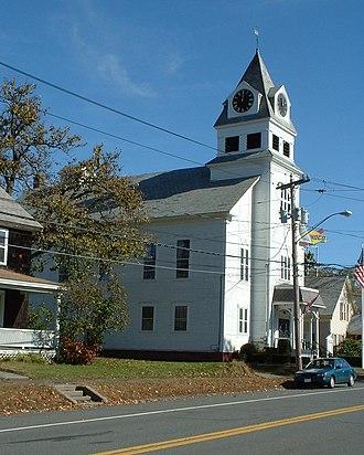 Bernardston, Massachusetts - Bernardston Town Hall
