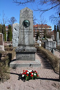 Bernhard Elis Malmströms grav.JPG