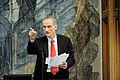Bertel Haarder, Nordiska radets president, talar vid oppnandet av Noridka radets session i Kopenhamn 2011.jpg