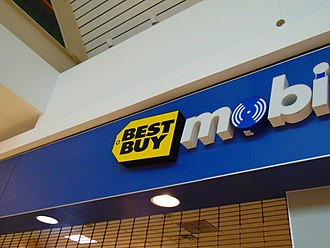 Best Buy - The Former Best Buy Mobile located in the Brass Mill Center, Waterbury, Connecticut.
