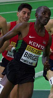 Bethwell Birgen Kenyan middle-distance runner