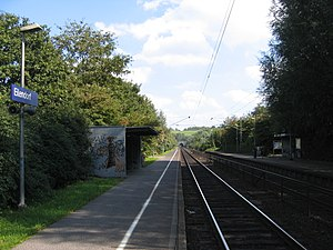 Eilendorf (Aachen) - Eilendorf Train Platform