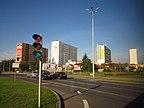 Polska - Białystok, Skrzyżowanie ulic Pogodna -