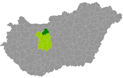 magyarország térkép bicske Bicske District   Wikipedia magyarország térkép bicske