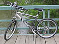 Bicycle on a footbridge over the Humber River in 2006.jpg