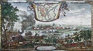 Brest, Belarus - Siege of Brest by E. Dahlbergh, 1657