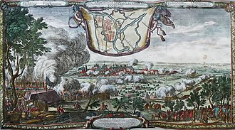 Deluge (history) - Transylvanian–Swedish Siege of Brest in 1657, painted by E. Dahlbergh