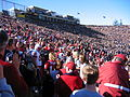 Big Game 2004 Stanford players arrival.jpg