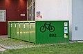 Bike boxes, Kaiser-Franz-Josef-Spital 04, Vienna.jpg