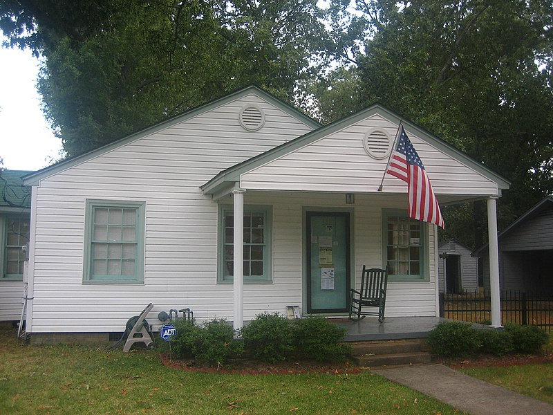 Bill Clinton Boyhood Home in Hope, Arkansas IMG 1515.JPG