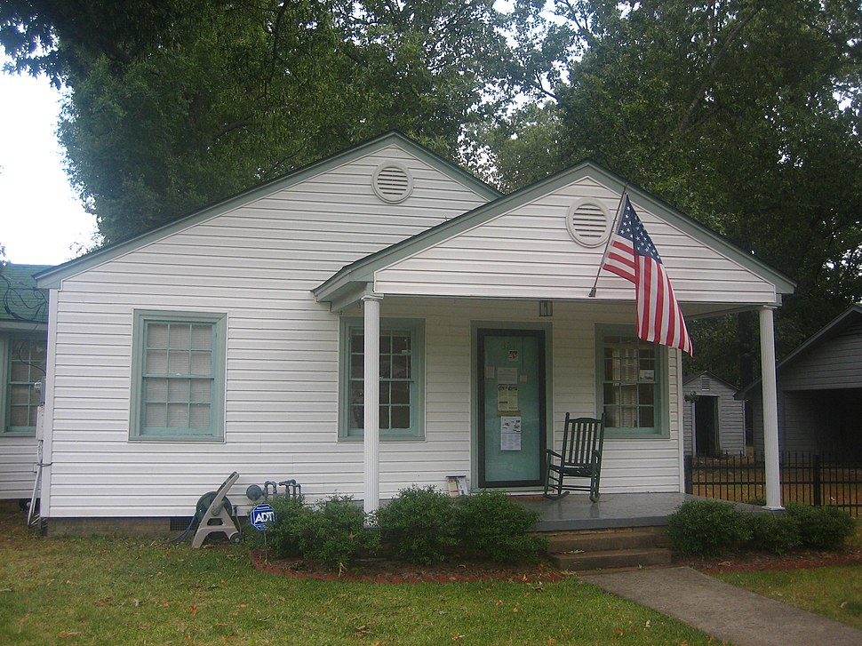 Bill Clinton Boyhood Home in Hope, Arkansas IMG 1515