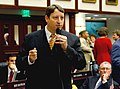 Bill Galvano answers questions from colleagues on the House floor.jpg