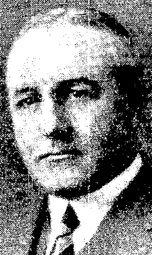 Billy Bawlf - Bawlf pictured in The Winnipeg Free Press, January 28, 1933