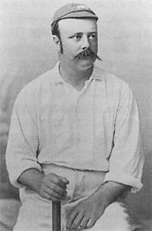 History of Test cricket from 1884 to 1889 - Billy Murdoch, Australia's second Test captain.