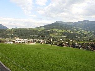 Bischofshofen from the west