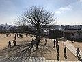 Bizenmaru of Himeji Castle from entrance of Tenshu 2.jpg