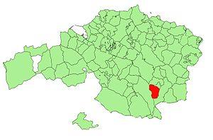 Mañaria - Image: Bizkaia municipalities Mañaria