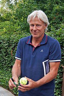 Björn Borg Swedish tennis player