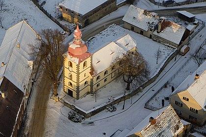 Kostel sv. Václava, Blíževedly