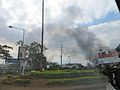Black smoke from Westgate through vehicle window.jpg
