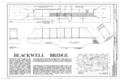 Blackwell Bridge, Heardmont Vicinity, County Road 244, Heardmont, Elbert County, GA HAER GA,53-HEAR.V,1- (sheet 1 of 2).png