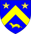 Blason famille de Romé (Rouen).png