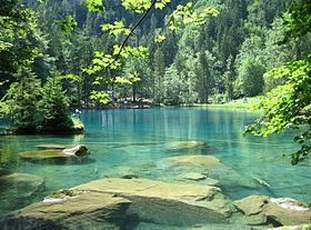 Image illustrative de l'article Blausee (Berne)