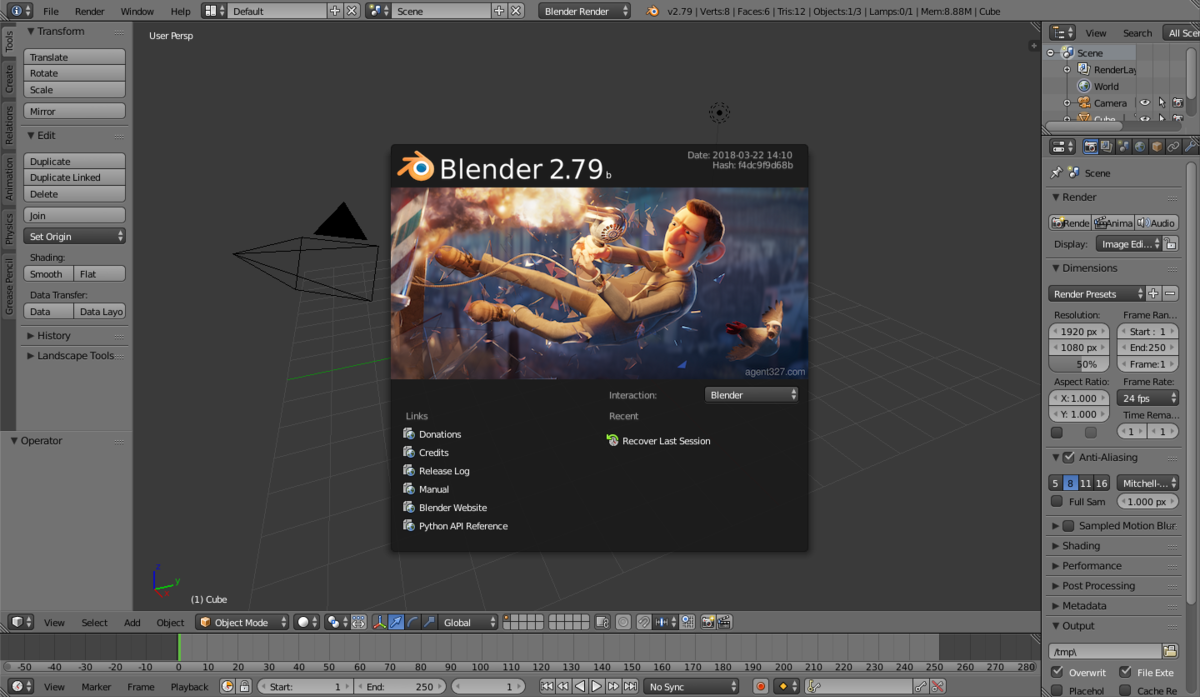 Blender software wikipedia Online modeling program