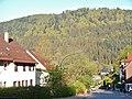 Blick von der Pension Kübler zur Mitte von Höfen an der Enz - panoramio.jpg