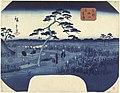 Bloeiende irissen te Horikiri in de Oostelijke hoofdstad Toto Horikiri hanashobu (titel op object), RP-P-1956-758.jpg