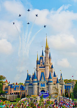 Blue Angels over Disney World 150319-N-KG934-082