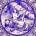 Blue Tile Victoria and Albert Museum (Sappho) (16939601166).jpg