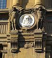 Bncf, facciata, medaglione leonardo.JPG